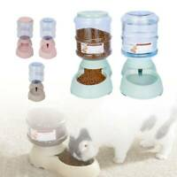 3.75L Automatic Dog Cat Auto Feeder Pet Food Dispenser Waterer Feeding Dish Bowl
