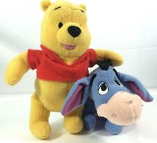 Fisher Price Disney Winnie The Pooh & Eeyore Plush Soft Toys (collectables)