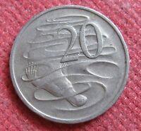 20 Centesimi ORNITONGO Elisabetta II Australia 1968 - n 965