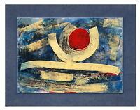 Abstrakte Komposition - Carl Bruno Bloemertz, dat. 1970   (# 4015)