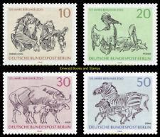 EBS West Berlin 1969 125th Anniversary Berlin Zoo Michel 338-341 MNH**