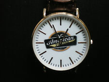 american vintage hard iced tea watch copper coloured accents nice new rare