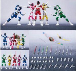 Bioman Shodo Super minipla Figure x5pcs PB Premium Bandai August