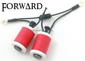 """1.25"""" 8-32 Tattoo Machine Parts Coils 8 Wrap White Washers with Hot Pink Forward"""