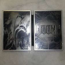 Doom 3: Limited Collector's Edition (Microsoft Xbox, 2005) Steel book Metal pack