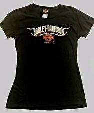 Harley Davidson Jamaica Women's Large Tee Shirt - Black & Orange -NWOT - NICE!