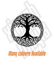 Tree of Life vinyl sticker decal car viking celtic mythology window optional