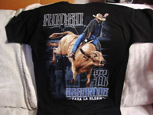 BULL RIDING COWBOY RODEO 8 SEGUNDOS PARA LA GLORIA T-SHIRT