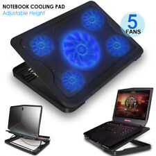 Cooling Pad for 15.6 - 17-Inch Laptops with (1x 170mm+4x70mm) 5 Fans at 120