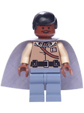 LEGO Star Wars Lando Calrissian - General Insignia (Sand Blue Legs) minifigure