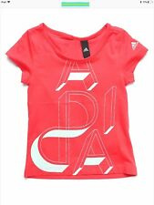 adidas Junior Girls AA Ling T Shirt Ay5344 for Ages 5 to 15 Years. 7-8 Years