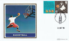 (38561) GB Benham FDC Olympic Games Basketball Leicester 2009