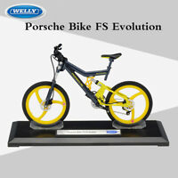 New Scale 1:10 Porsche Bike FS Evolution Mountain Bicycles Diecast Model Toys
