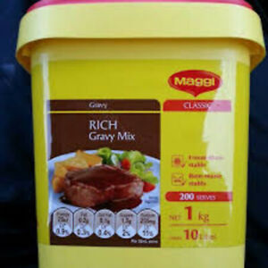 1KG MAGGI RICH GRAVY MIX + FREE POST- LIMITED EDITION SIZE BB NOV 2021