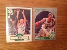 2 LARRY BIRD NBA BASKETBALL Trading Cards