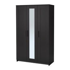 IKEA Brimnes Wardrobe with 3 Doors Black 903.947.19