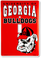 Georgia Bulldogs Switch Plate Light Switch Cover Made in the Usa