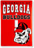 Georgia Bulldogs Switch Plate Light Switch Cover Man Cave FAST USA SHIPPING
