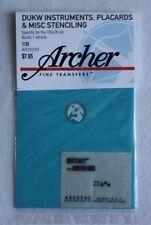 Archer 1/35 DUKW Instruments Placards and Maintenance Stencils (Italeri) AR35243