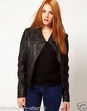 Barneys Originals Leather Jacket UK 14 EU 42 RRP £210