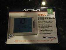 BRAEBURN 6400 PROGRAMMABLE THERMOSTAT, HUMIDIFICATION CONTROL