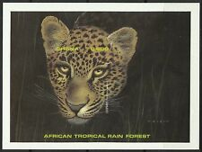 Ghana Leopard Panthere Big Cat Großkatzen Non Dentele Imperf Proof Essay ** 1990
