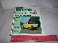 Mitsubishi L300 Express 1980on Workshop Manual SH