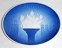 B&G Bing And Grondahl Plate ~ Olympic Games Munich 1972 ~ First Issue