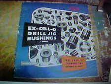 Ex-Cell-O Drill Jig Bushings Bulletin Specifications