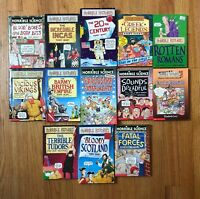 Lot 13 HORRIBLE HISTORIES & SCIENCE Books Chapter