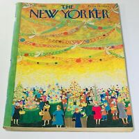 The New Yorker: December 7 1963 - Full Magazine/Theme Cover Ilonka Karasz