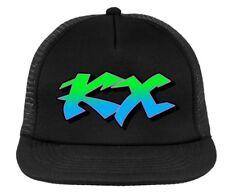 KAWASAKI KX retro motocross cap, MX trucker hat , snapback - black
