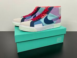 NEW Nike SB ZOOM Blazer Mid Premium Multi Color Shoes DDA8854-500 Men's Size 11