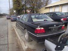 1995-2001 BMW 7 SERIES 740i SEDAN LH DRIVER REAR DOOR GLASS OEM- a703