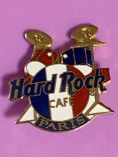 Hard Rock Cafe 1990s Paris French Flag Drums Kit Pin