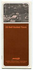"""Old RTD Bus Booklet: """"20 Self Guided Tours"""" - Theme Parks, Westwood + [So. CA]"""