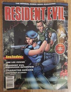 RESIDENT EVIL COMIC MAGAZINE JIM LEE COVER RARE HORROR (VIDEO GAME)