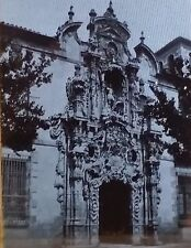 Hospicio Provincial, Madrid, Spain, (Pedro Ribera) ,Magic Lantern Glass Slide