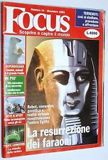 Focus n.14 rivista originale del Dicembre 1993
