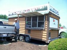 Used 8' x 20' Food Concession Trailer / Mobile Kitchen Unit for Sale in Ohio! -