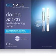 Go Smile Teeth Whitening System Double Action 6-Day (12 Ampules ) Brand New Box