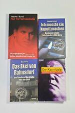 4 Bücher Sammlung zum Thema Serienmörder von Hans Girod, Jaques Buval etc