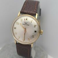 Vintage Waltham B 285 Q Men's Manual wind watch FHF 969 17Jewels swiss made 60s