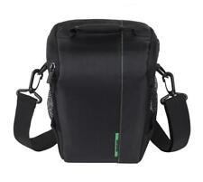 RivaCase 7440 Kamera Tasche Bag in Schwarz für Panasonic Lumix DMC-L10