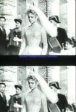 BRIGITTE BARDOT 11 DIAPOSITIVES DE PRESSE ORIGINALES VINTAGE SLIDE LOT