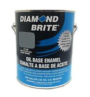 Diamond Brite Paint 1-Gallon Oil Base All Purpose Assorted Sizes , Colors