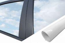 6x Premium A B C Colonne Porte Bandes Film D 'Auto Set Blanc Brillant pour