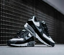 NIKE AIR MAX 90 QS TRAINERS UK10.5 WHITE/PARTICLE GREY/ANTHRACITE CD0916 100