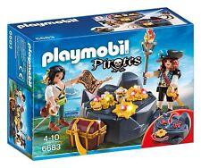 BNIB Playmobil 6683 PIRATES Pirates' Treasure Hideout set