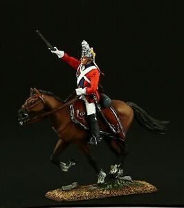 Tin soldier, Collectible Officer of the cuirassier reg. 54 mm, Napoleonic Wars